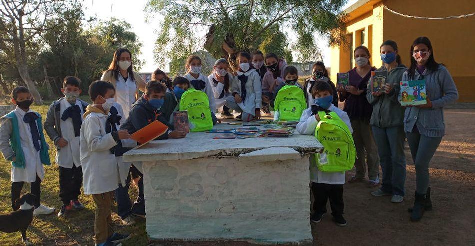 Fundación Edúcate trabaja en el fortalecimiento de escuelas rurales del departamento (Cerro Largo)